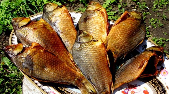 Готовая к употреблению рыбка