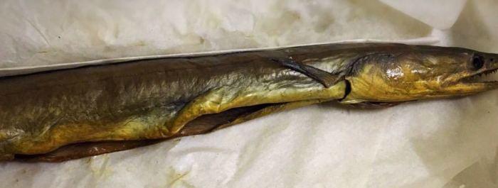 Закопченная рыба