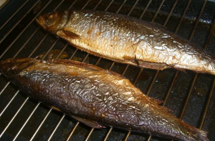 Рыбка доходит до готовности