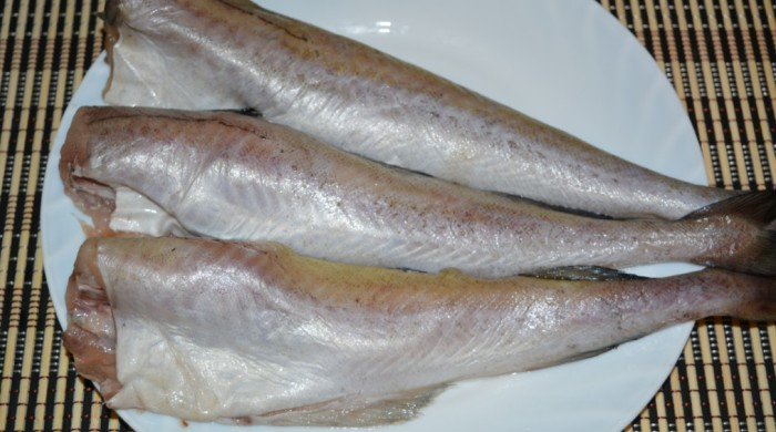 Разделанные тушки рыбы