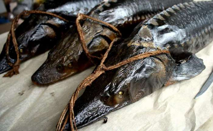 Прокопченная рыба