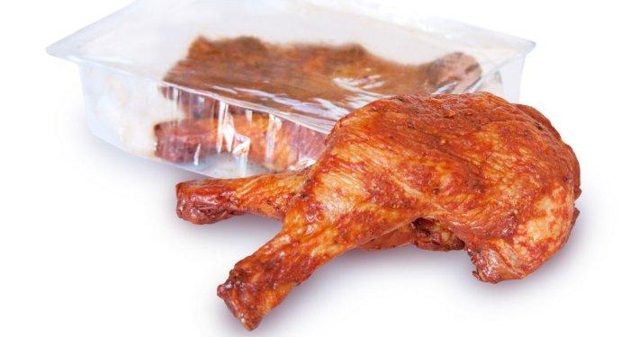 Готовое куриное мясо