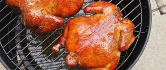 Как закоптить курицу горячего копчения