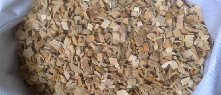Готовая древесина для копчения