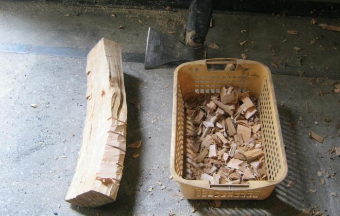 Использование топора