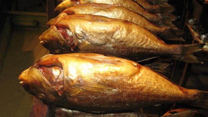 Закопченая рыбка