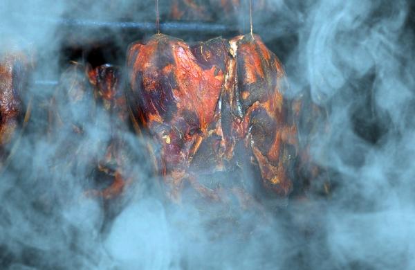 Копчение дымом