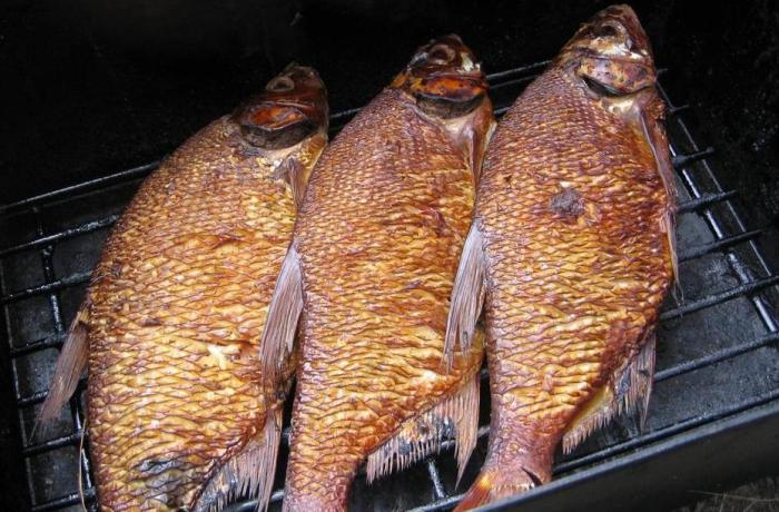 Копченая рыбка