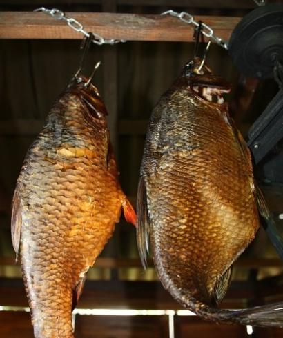 Проветривание копченой рыбы