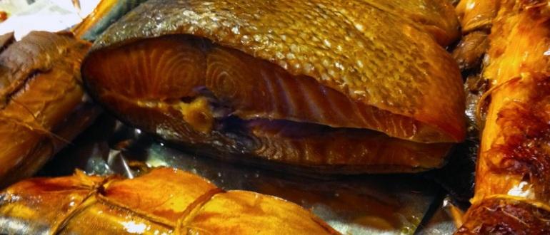 Копченая рыба