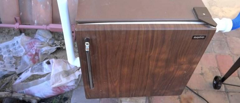 Коптилка из холодильной камеры