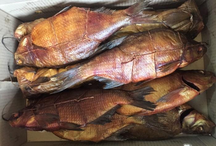 Домашняя копченая рыбка