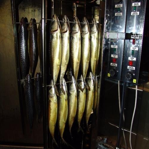 Рыба в стадии готовки