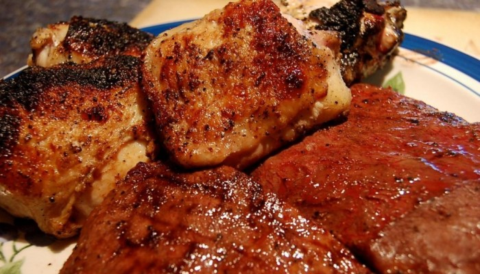 Горячее мясо