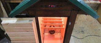 Самодельный шкаф для холодного копчения