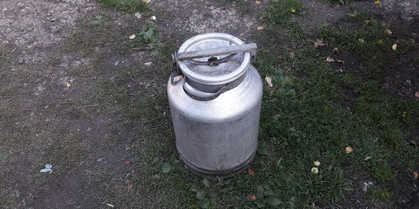 Агрегат из молочной фляги