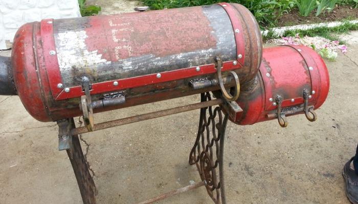 Агрегат из баллона