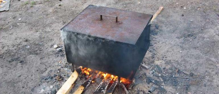Агрегат на костре