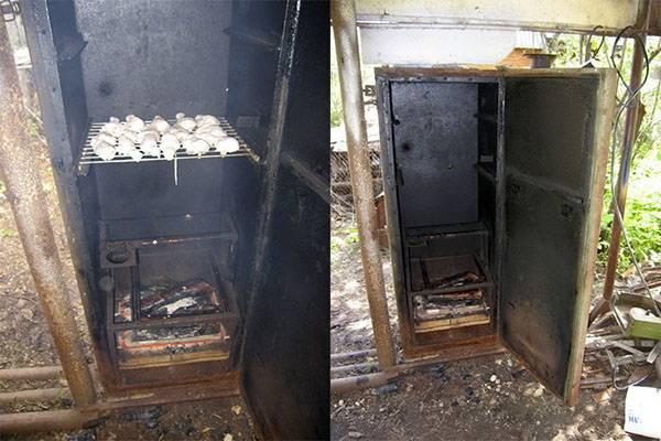 Агрегат из старого холодильника