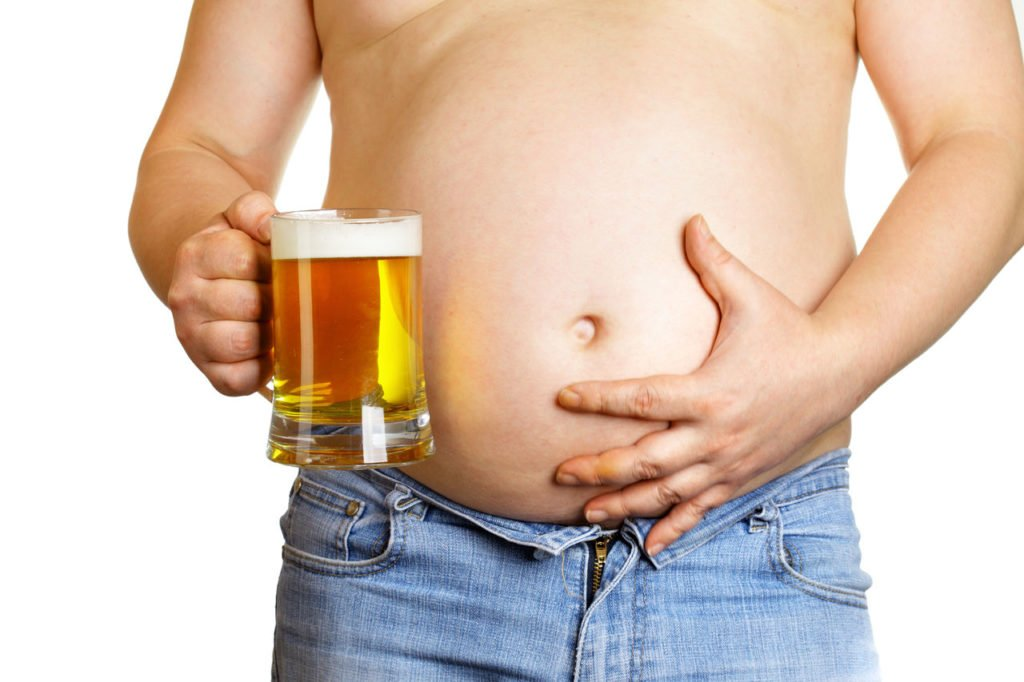Пиво похудеть мужчина